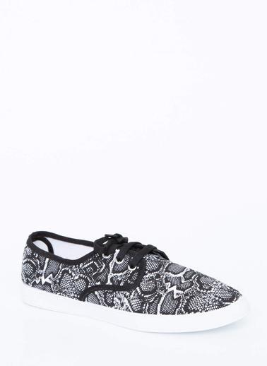 DeFacto Baskılı Ayakkabı Renkli
